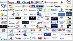 Empresas colaboradoras en el programa de prácticas formativas no laborales de Centro Zaragoza.