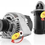 Bosch, campaña de motores de arranque y alternadores