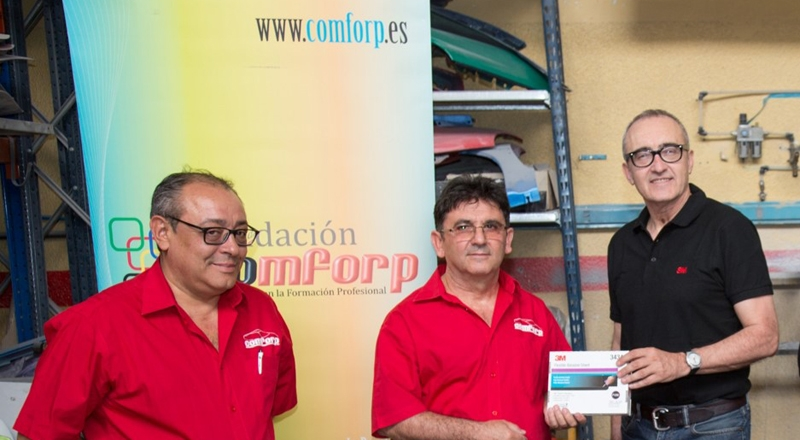 Donación COMFORP_3M