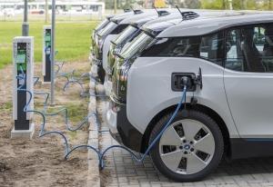 Übergabe der E-BMW-Flotte an die FBB GmbH am 25.4.2017 in Schö