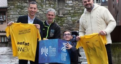 SINNEK participará con un reto solidario en la Maratón Martín Fiz para dar visibilidad a la ataxia telangiectasia