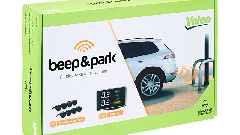 nueva gama valeo de sistemas de ayuda al aparcamiento con. Black Bedroom Furniture Sets. Home Design Ideas