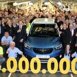 Groupe PSA. El centro de producción de Zaragoza alcanza los 13 millones de unidades fabricadas
