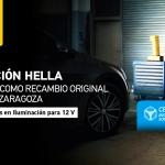 La línea de Iluminación de HELLA, certificada como Recambio Original por el Centro Zaragoza