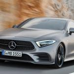 Mercedes CLS Coupe. Hijo del viento