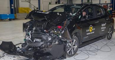 Nissan LEAF, 1er Eléctrico 5 Estrellas