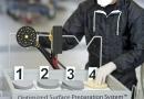 Mirka OSP Smart Repair reduce el tiempo de Preparación