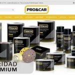 PRO&CAR lanza su nueva web