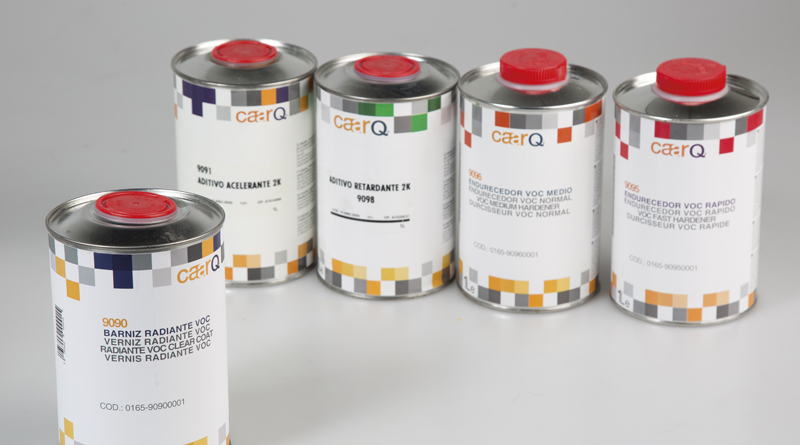 Barniz radiante VOC caarq