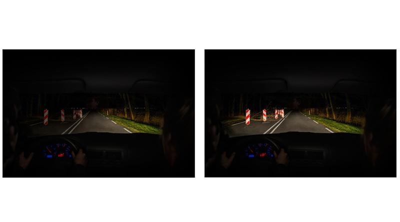 Diferencia 1-2 lámparas nuevas