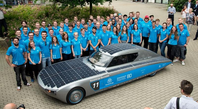 Axalta supports Bochum University studen race solar car
