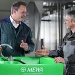 El lavapiezas de MEWA siempre listo gracias a su servicio de mantenimiento y reparación periódica