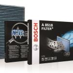 Los filtros para el habitáculo Bosch cuidan la salud, el bienestar y la seguridad de los pasajeros