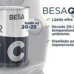 BESA presenta el nuevo aparejo BESA-QUICK, aparejo de lijado en tal solo 20-25 minutos