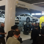 Imágenes de Spanesi en la feria de Automechanika Frankfurt