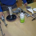Reparación de depósitos de motocicletas