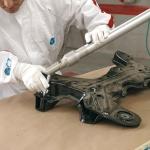 Verificación de un elemento mecánico: cuna motor