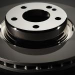 El disco de freno Brembo    Co-Cast recibió una mención especial de la galería de innovación de Motortec