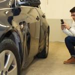 Verificador de siniestros y de daños en automóviles