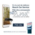"""Nueva campaña de Bosch Car Service: """"Pide cita en un CLICK y conecta con tu taller"""""""