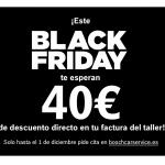 El Black Friday llega a Bosch Car Service