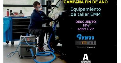 Autobrillante promociona en su 'Campaña Fin de Año' el catálogo de equipamiento para el taller de EMM