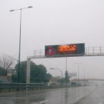 Los vehículos sentirán el estado climático de la carretera