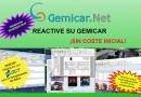GemiCar.Net calienta motores para 2020  con una nueva promoción de 'Reactivación'