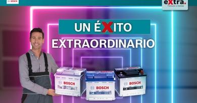 """Campaña """"Baterías Bosch"""": un éxito eXtraordinario   Finaliza con una gran participación: más de 1.000 talleres en España y Portugal"""