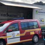 Euromaster cede su flota de atención en carretera para llevar material sanitario