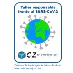 "Centro Zaragoza lanza su nueva marca ""Taller Responsable frente al SARS-CoV-2"""