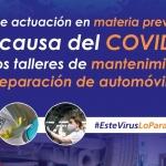 CETRAA y CONEPA crean una guía de actuación preventiva para talleres