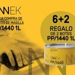 SINNEK lanza la promoción 6+2 par su masilla ligera  PP/1440.