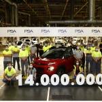 La planta de Zaragoza de Groupe PSA alcanza sus 14 millones de unidades producidas