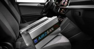 TEXA AIR2 SAN para la desinfección de vehículos y lugares de trabajo