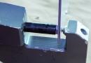 Aplicación de un remache macizo