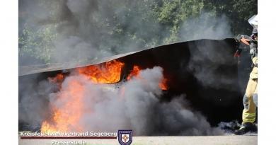 El estado alemán de Schleswig-Holstein equipa a sus bomberos con las mantas ignífugas de Bridgehill