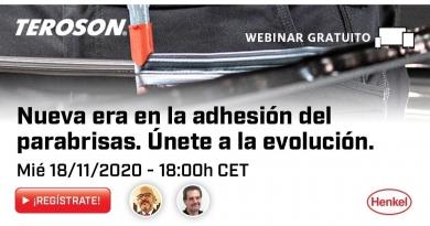 Webinar Henkel: Nueva era en la adhesión del parabrisas. Únete a la evolución.