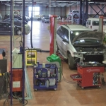 El presupuesto anual del taller de reparación