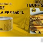 SINNEK regala buffs personalizados con la compra de la masilla ligera PP/1440
