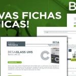 BESA presenta sus nuevas fichas técnicas