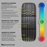 Neumáticos de invierno, verano o para todo tiempo ¿Cuál elegir?