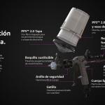 3M presenta su pistola de pulverización de alto rendimiento