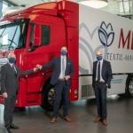 El primer camión de hidrógeno del sector circula para MEWA