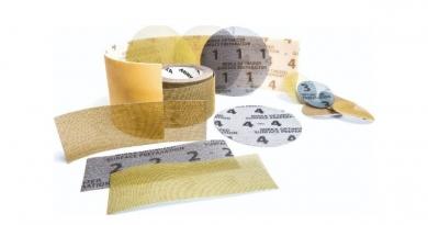 Mirka®: La única marca con abrasivos de malla de los granos 40 a 1000